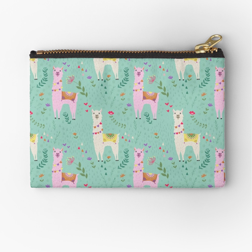 Custom llama fabric is not only eco friendly but you can use it to create whatever you dream up, cloth diapers, zipper pouches, the possibilities are endless.