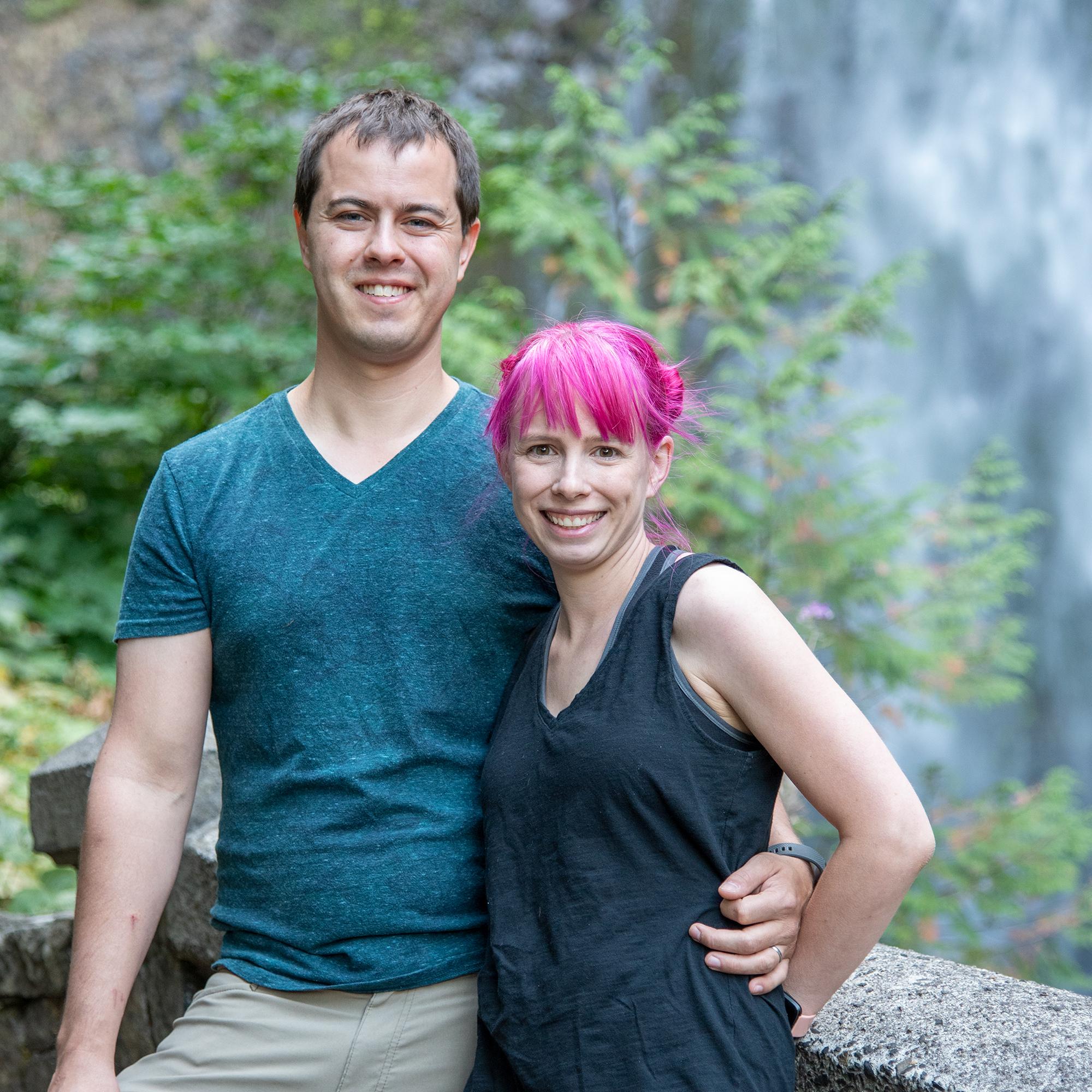 Creators taking a vacation along the Oregon coastline.
