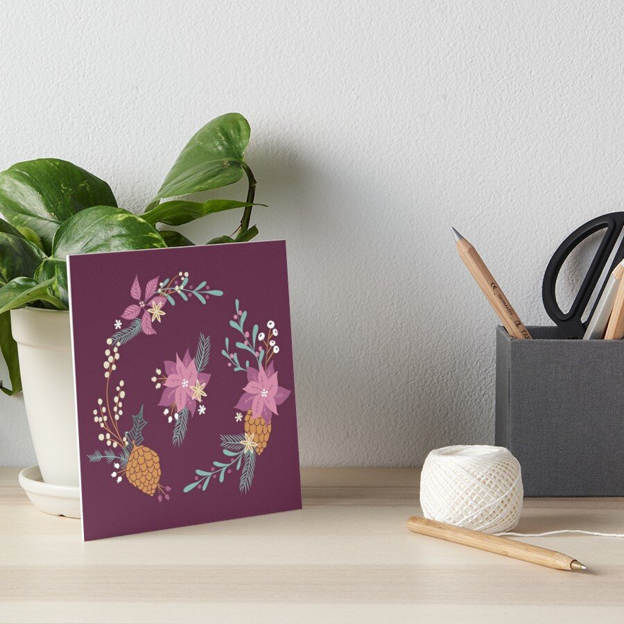 Advent colored wall or desk art is great for adding spirit to a small work space or cubicle. make it homey and full of spirit.