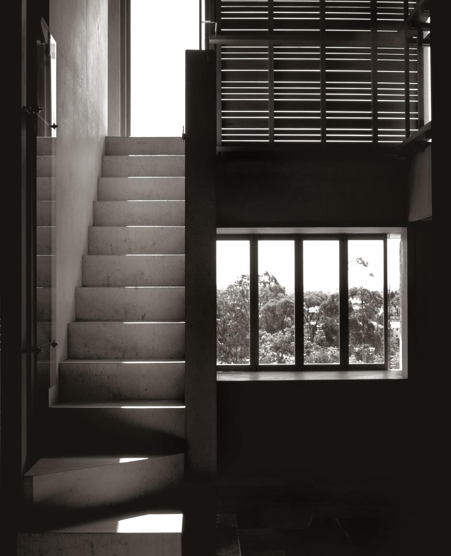 C House_TLinkins_Stair B&W.jpg