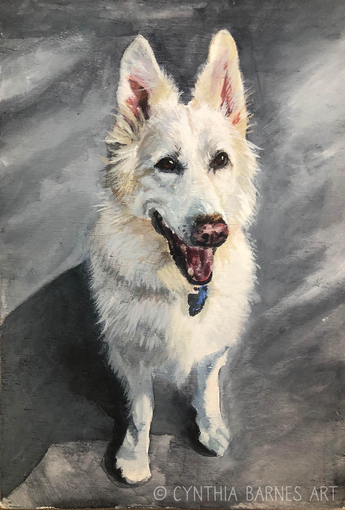 Dog Portrait - >> Order Print