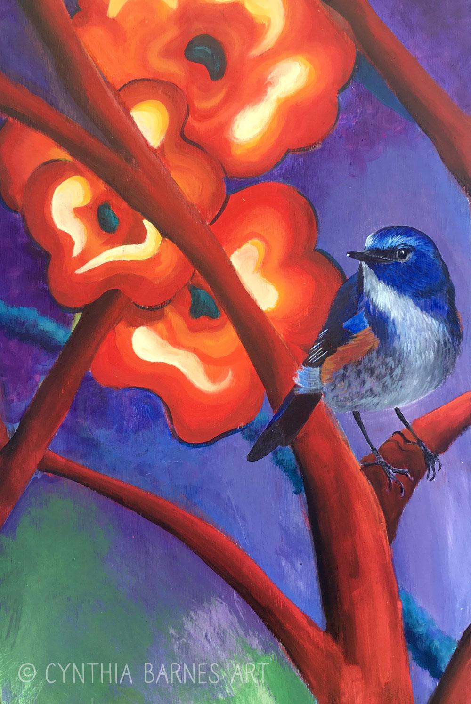 Bluebird Panel - >> Order Print