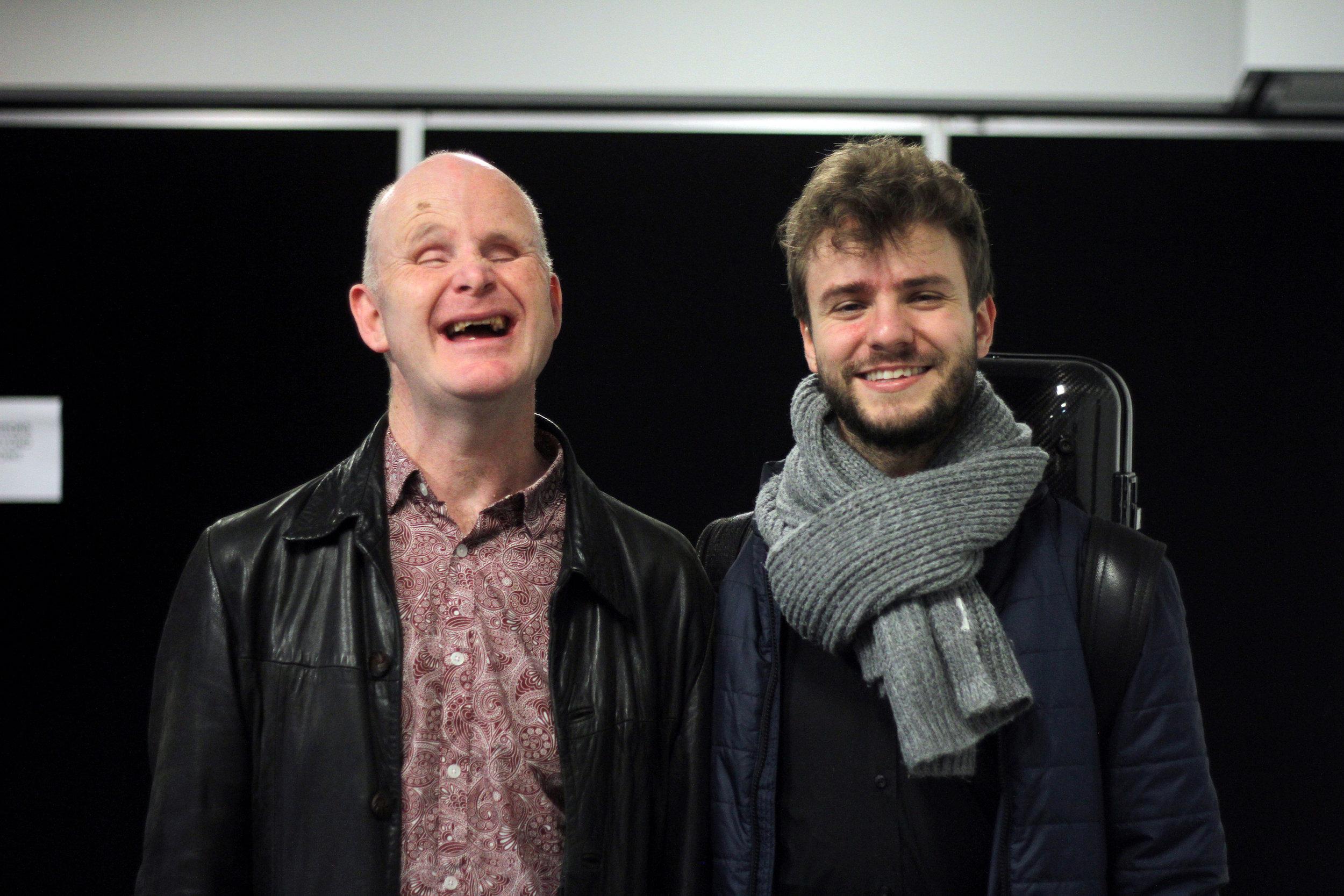 Accordionist Mark Wilson and Violinist Matthias Well