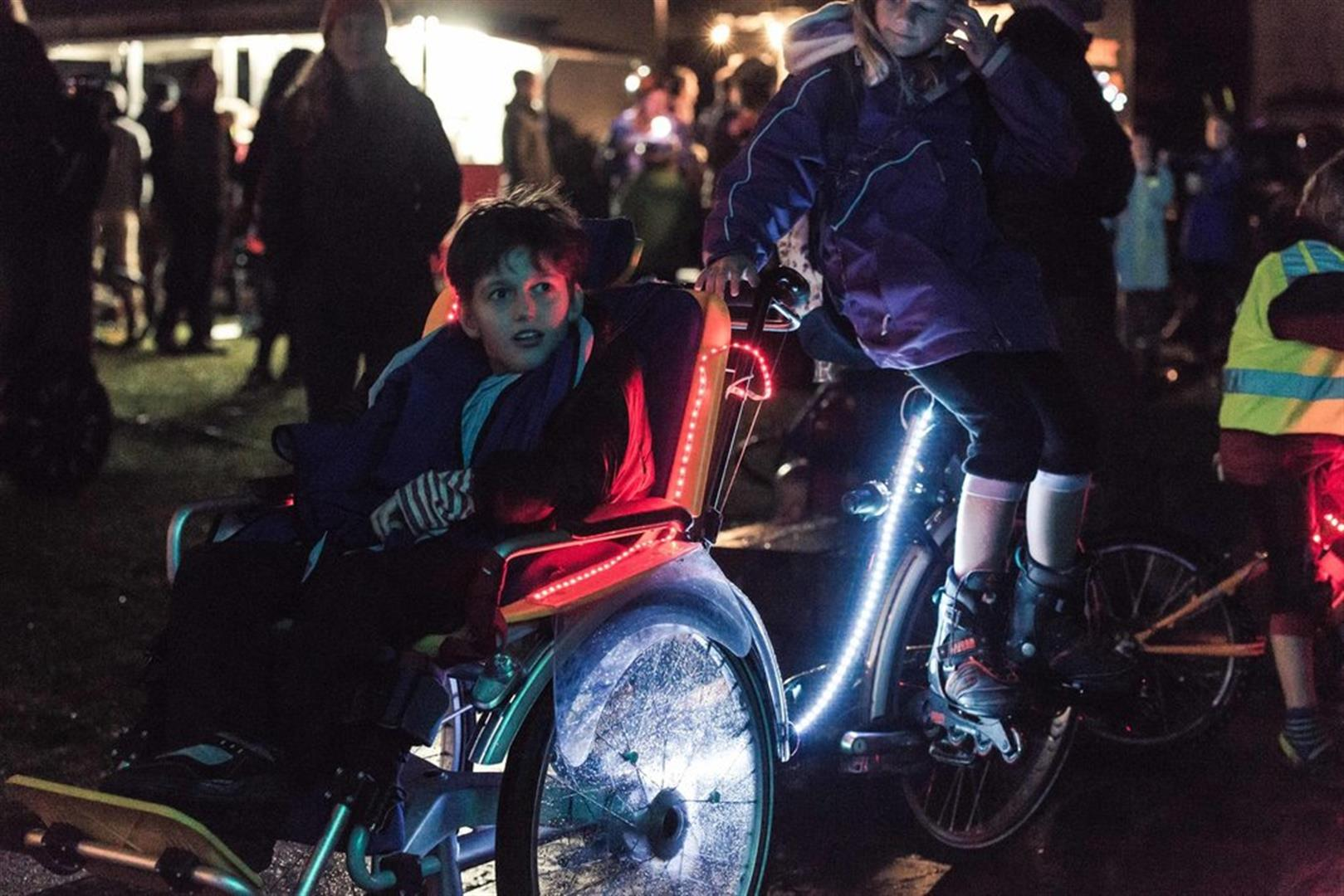 An all-wheels event for the whole whānau -