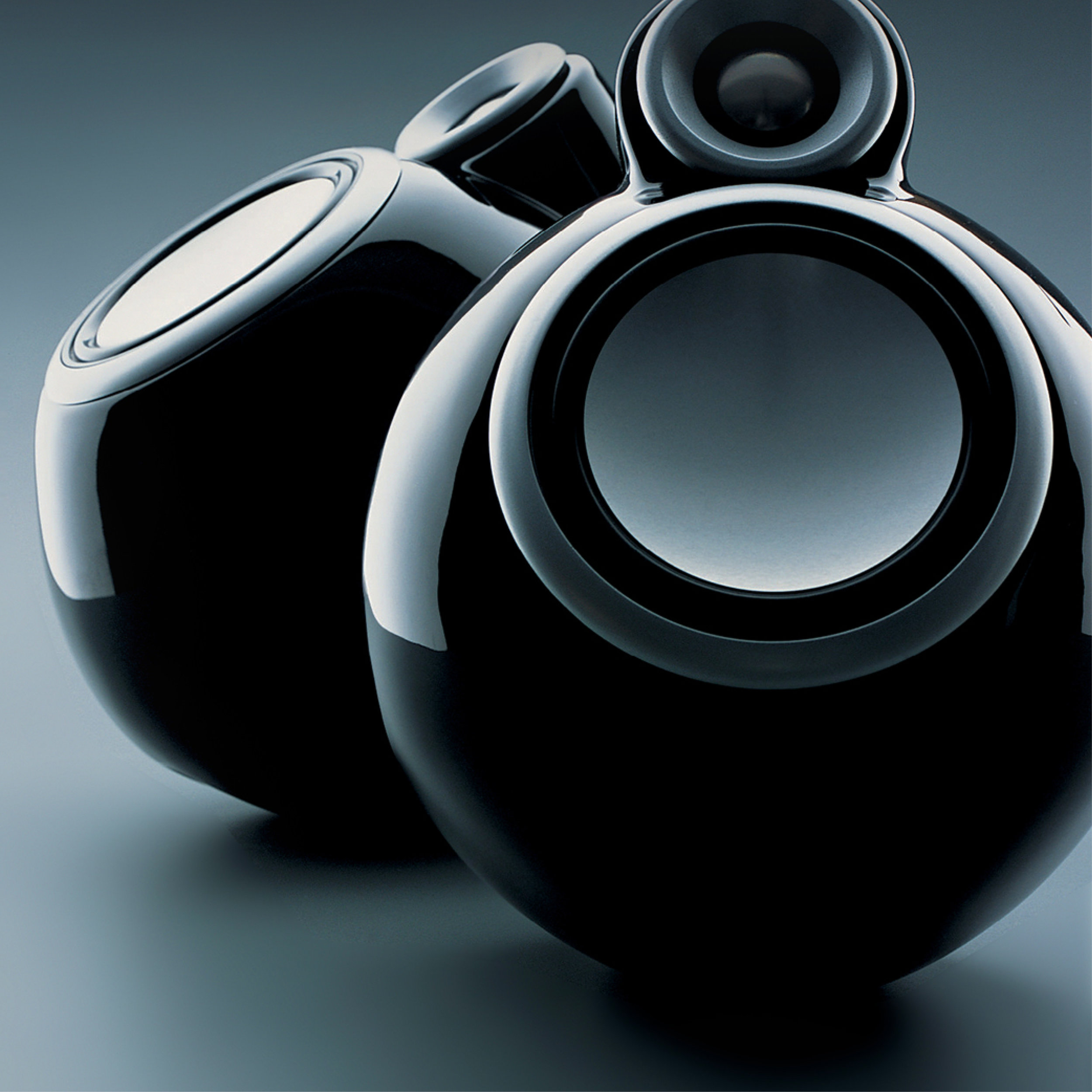 Orb 1 - Orbital sound System2004 - Piano black & silver / Ceramic