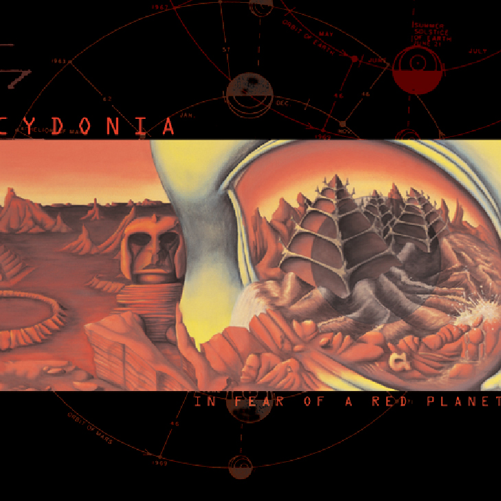 Cydonia - In Fear Of A Red Planet - BLUE ROOM RELEASED 1999