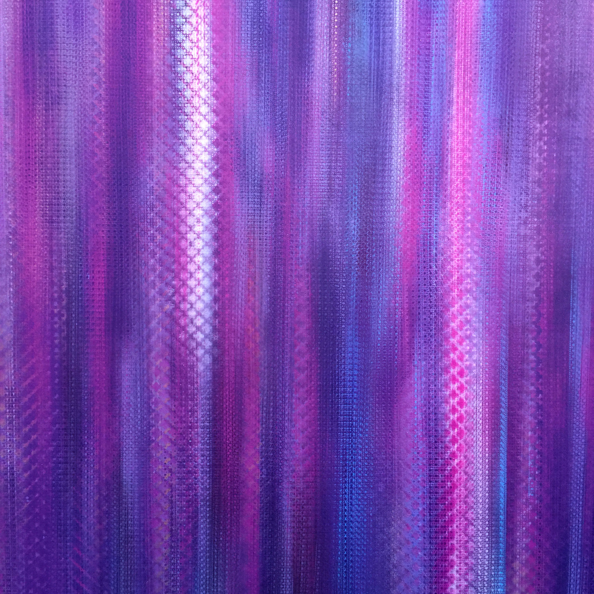 Purple Rain - 2016 ACRYLIC & HAND POURED CLEAR RESIN