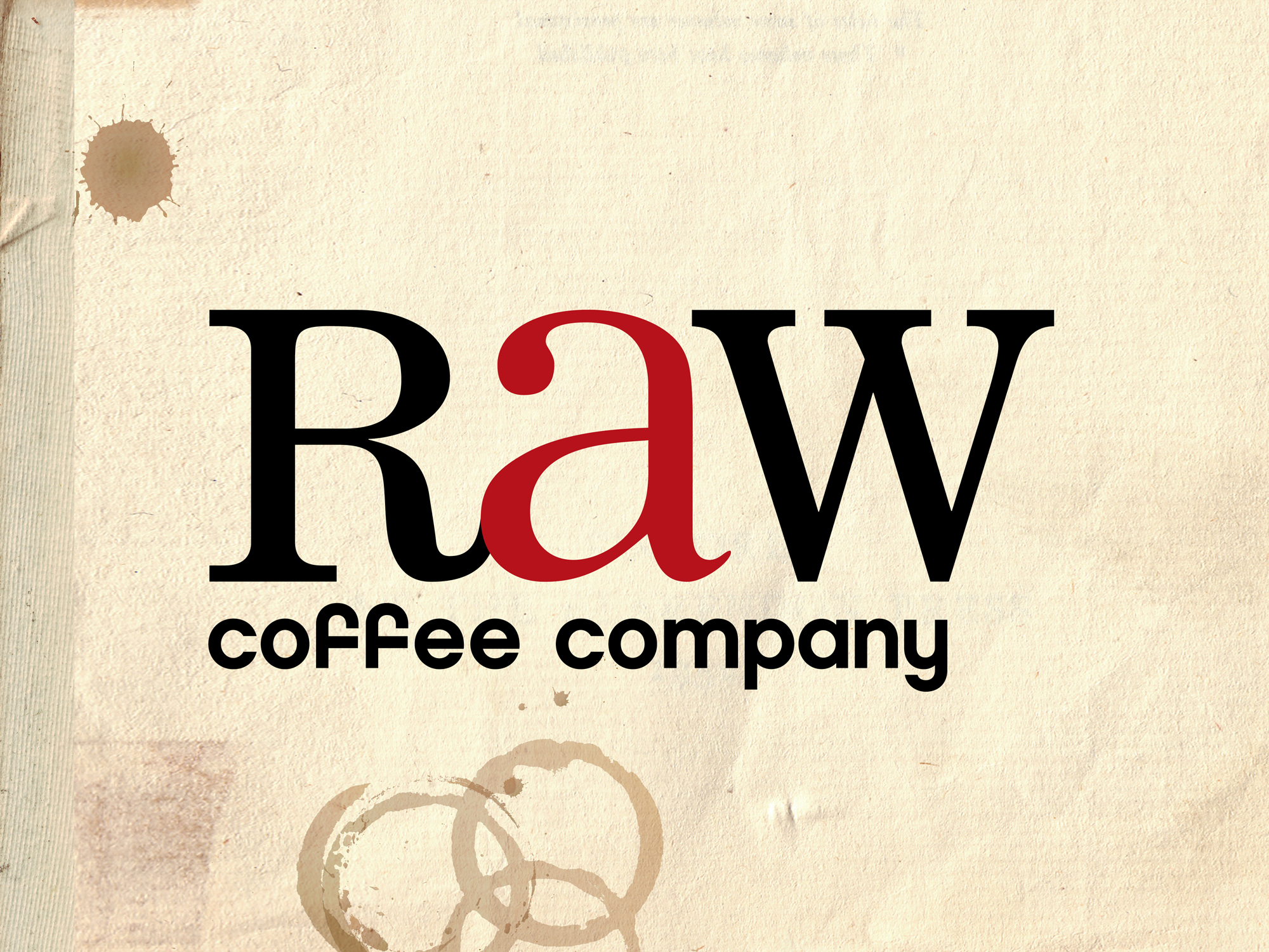 RAW COFFEE COMPANY - BRAND IDENTITY / BRAND ARCHITECTURE / PRODUCT IDENTITY DEVELOPMENT & PACKAGING / CREATIVE DIRECTION