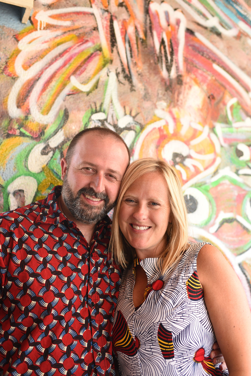 Kara & Ryan Higgins, Imana Kids co-founders.
