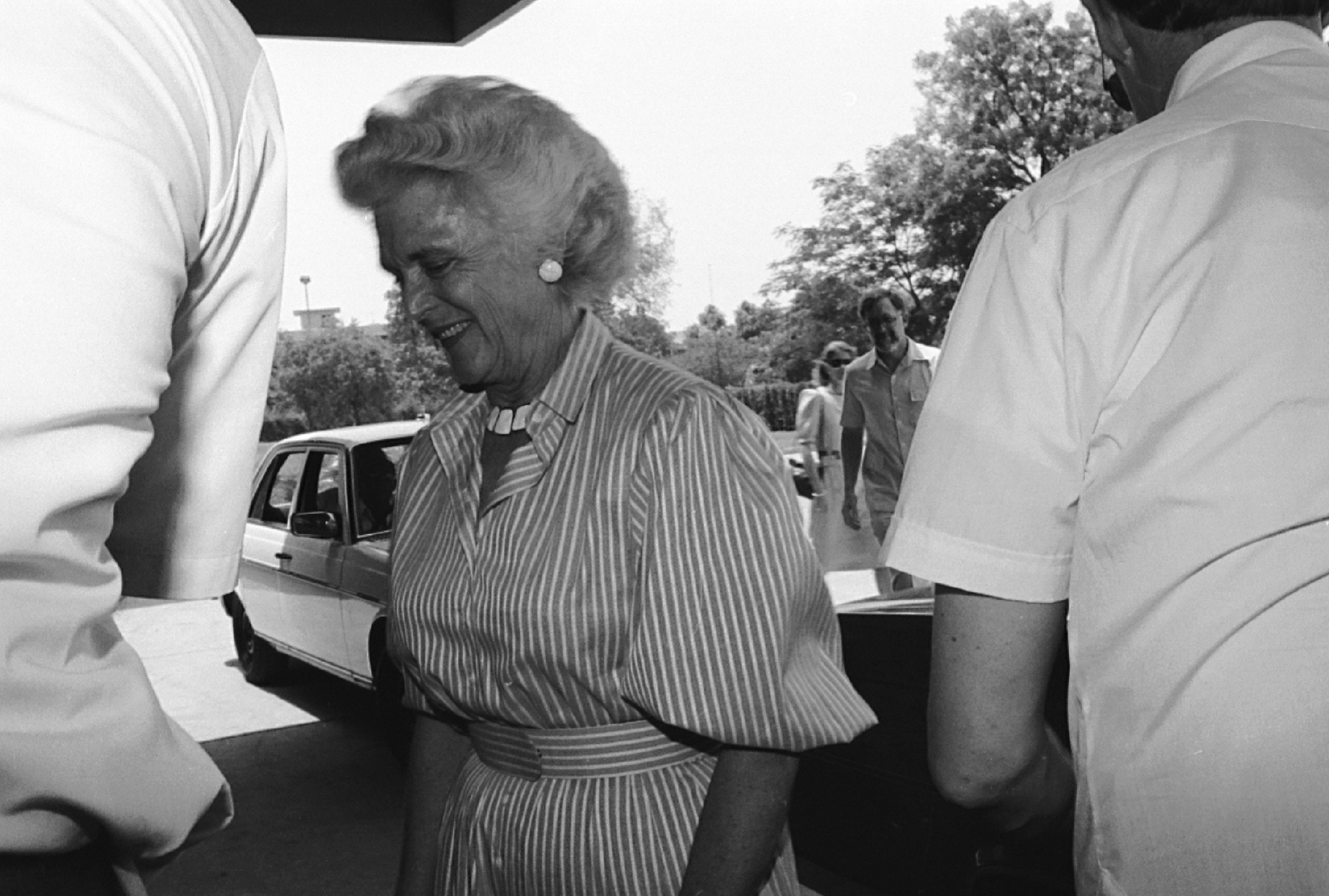 'She was this kind of person they don't make any more.' Friends, former staff remember Barbara Bush