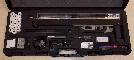 Resistograph in protective travel case