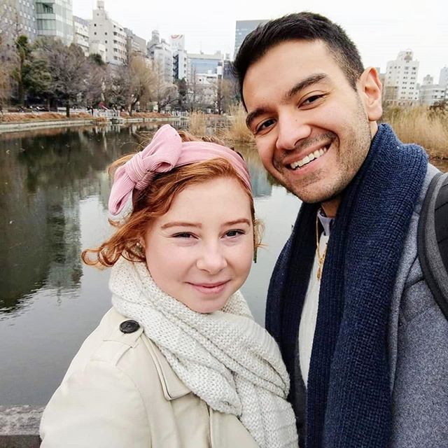 . . . . .  #tokyo #japan #winter #tbt #throwbackthursday #vacation #mylove #holiday #couple