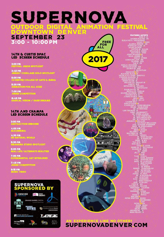 Supernova Digital Animation Festival - Denver, United States | Sep 23, 2017