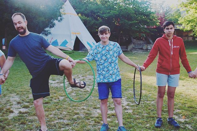 Empieza tus semanas asi en @larcadacamps ❤️🏕 #buenosdias #bondia #campamentos #camps #english #sports #indios #family #adventure #mountain #santmiqueldecampmajor #larcada