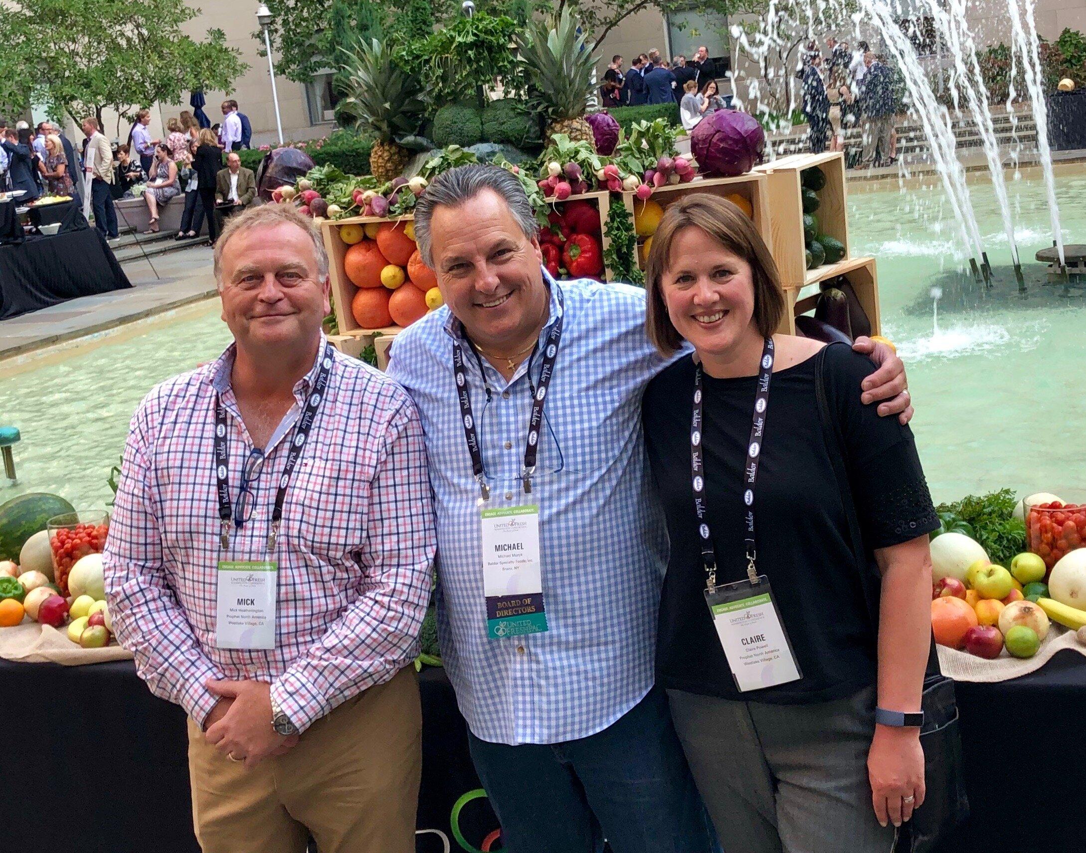 Mick Heatherington, Michael Muzyk – President - Baldor Specialty Foods, Inc. & Claire Powell