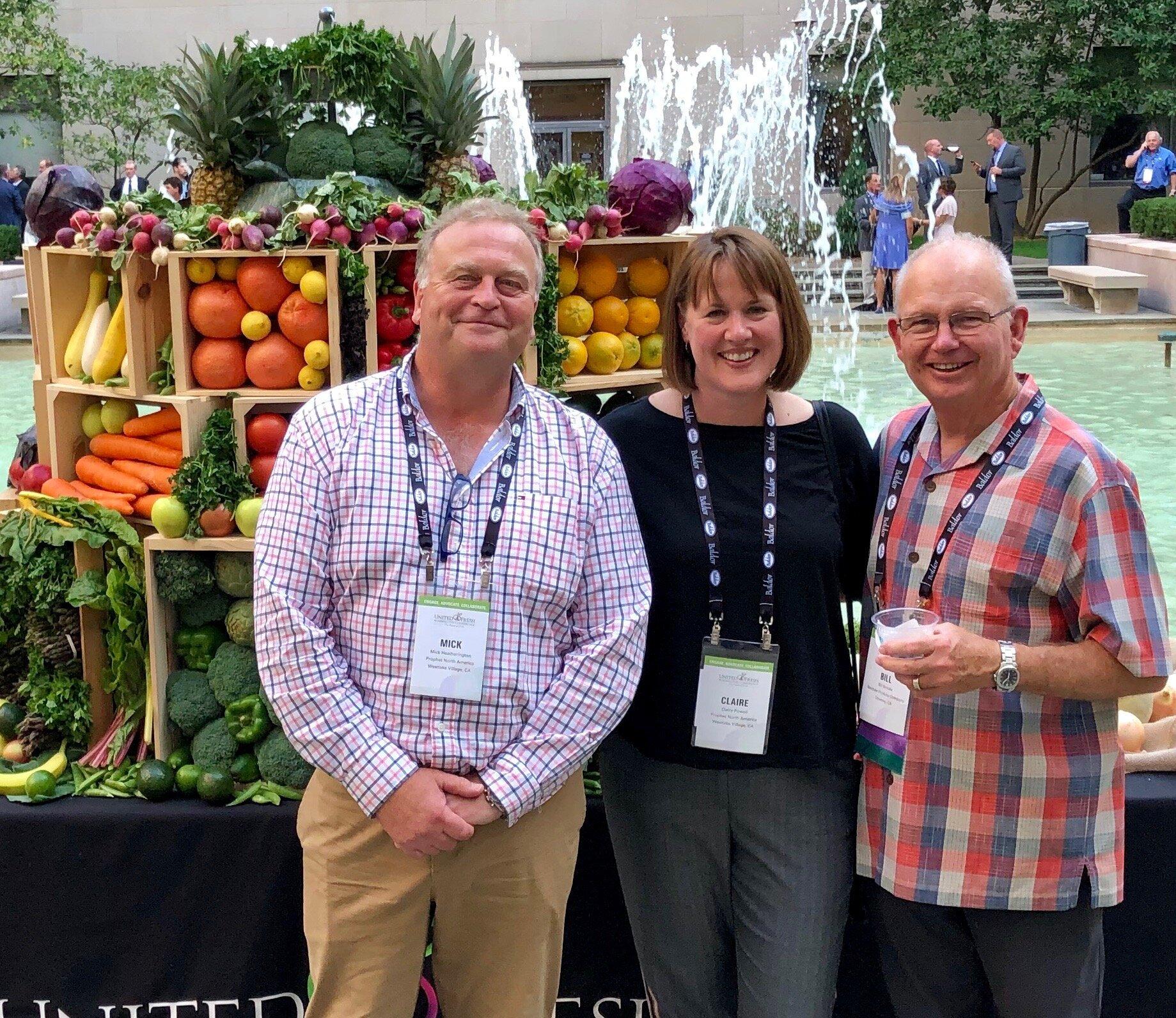 Mick Heatherington, Claire Powell and Bill Brooks – CEO - Westlake Produce Company