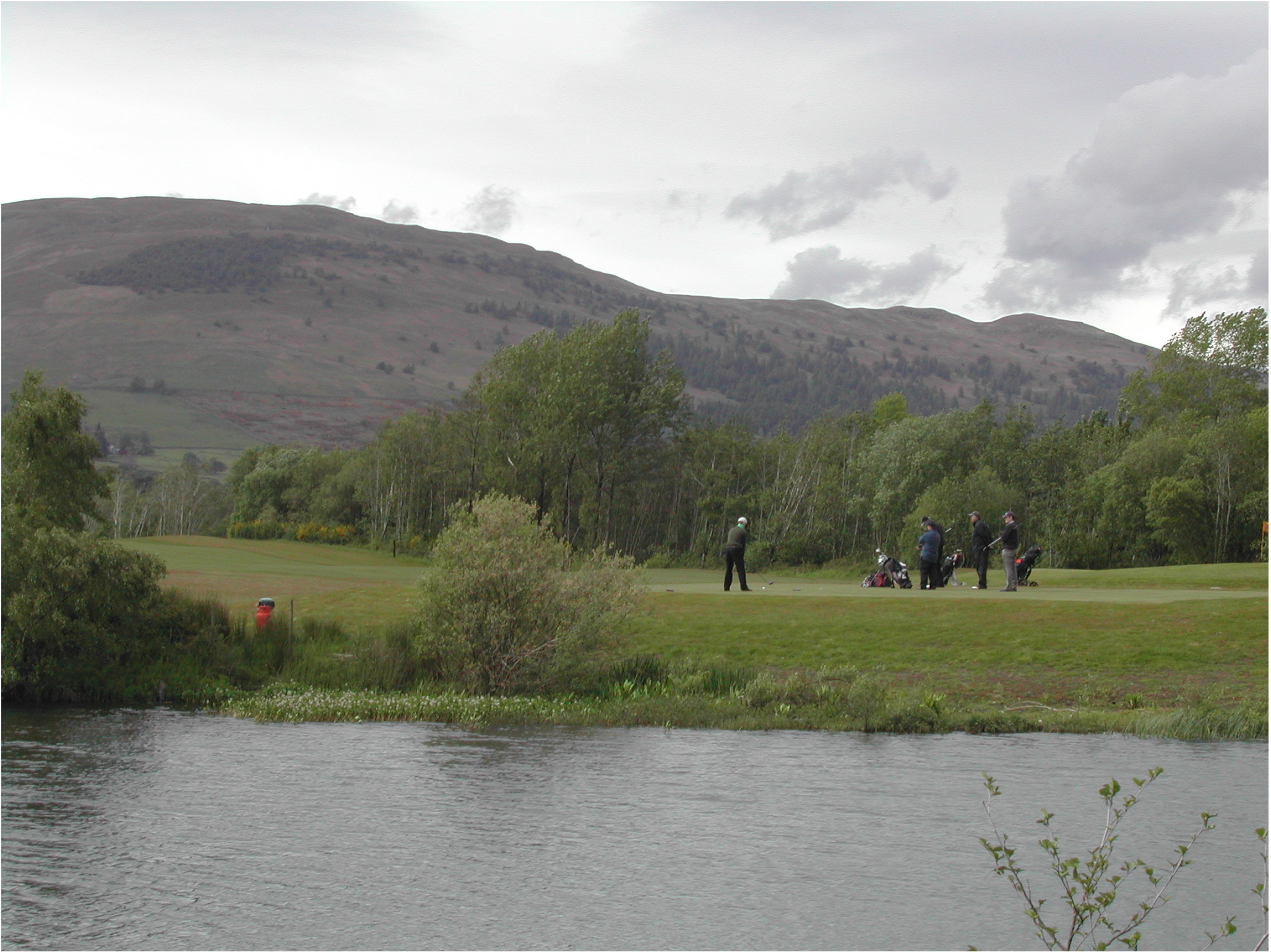 Golf-course protection