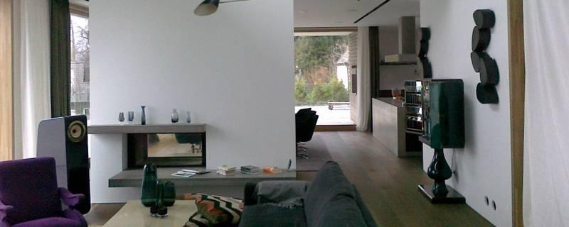 Innenraumgestaltung eines Privathauses