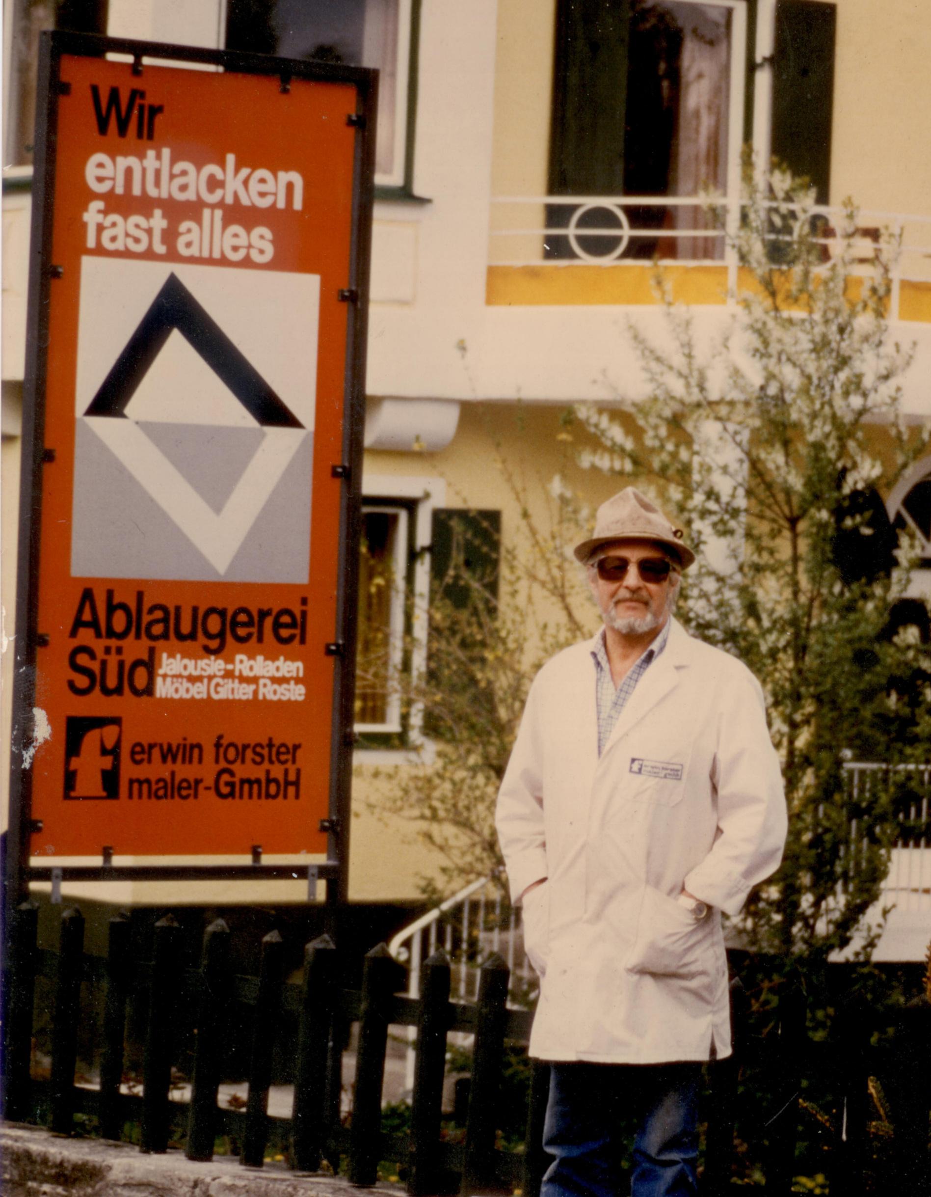 Erwin Forster jun. ca. 1980