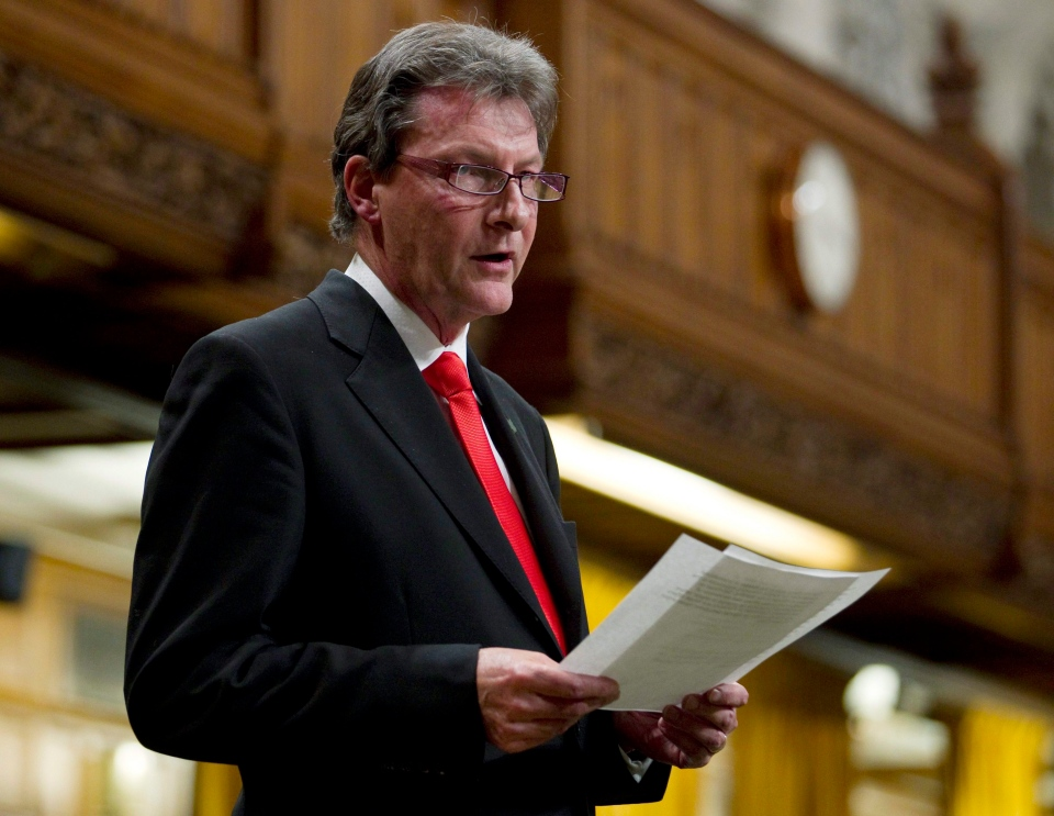 John McKay, MP Canada and Co-Chair of CANFoRB (Adrian Wyld / THE CANADIAN PRESS)