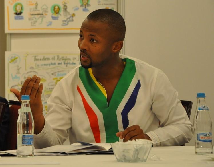 Nqabayomzi Kwankwa, MP South Africa and Chair of Steering Committee, AfriPAHR