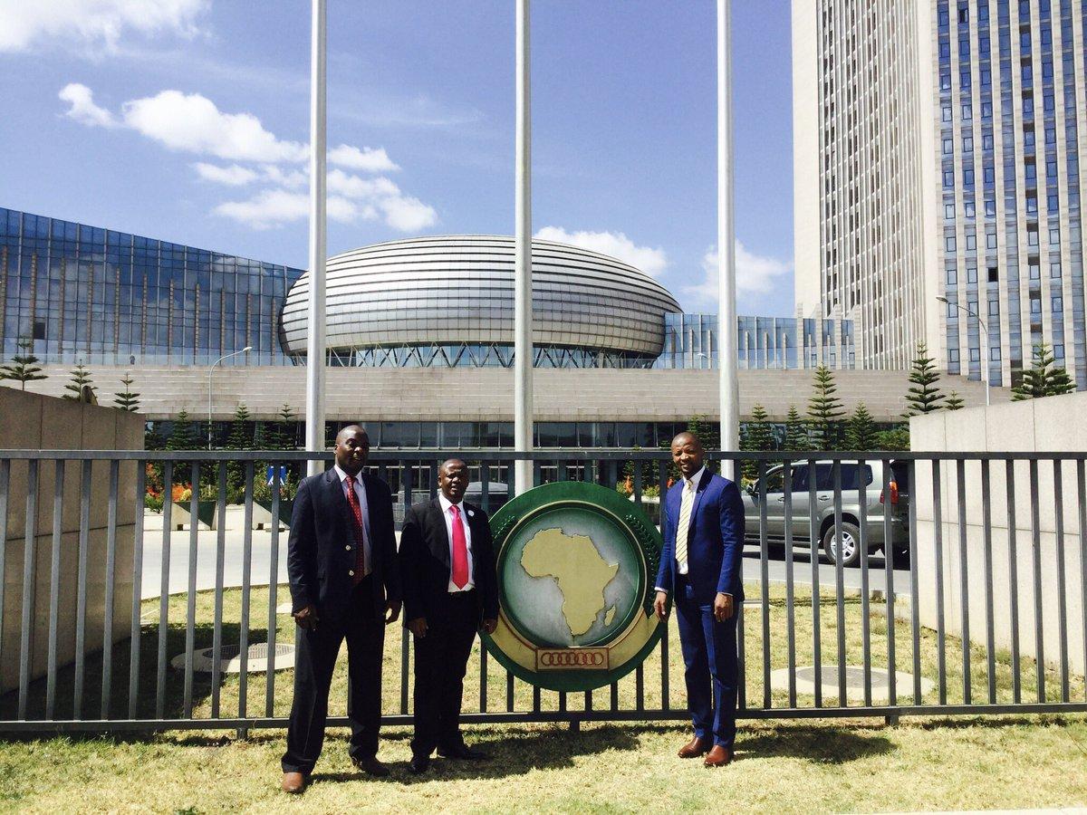 AfriPAHR Steering Committee members in Addis Ababa, Ethiopia