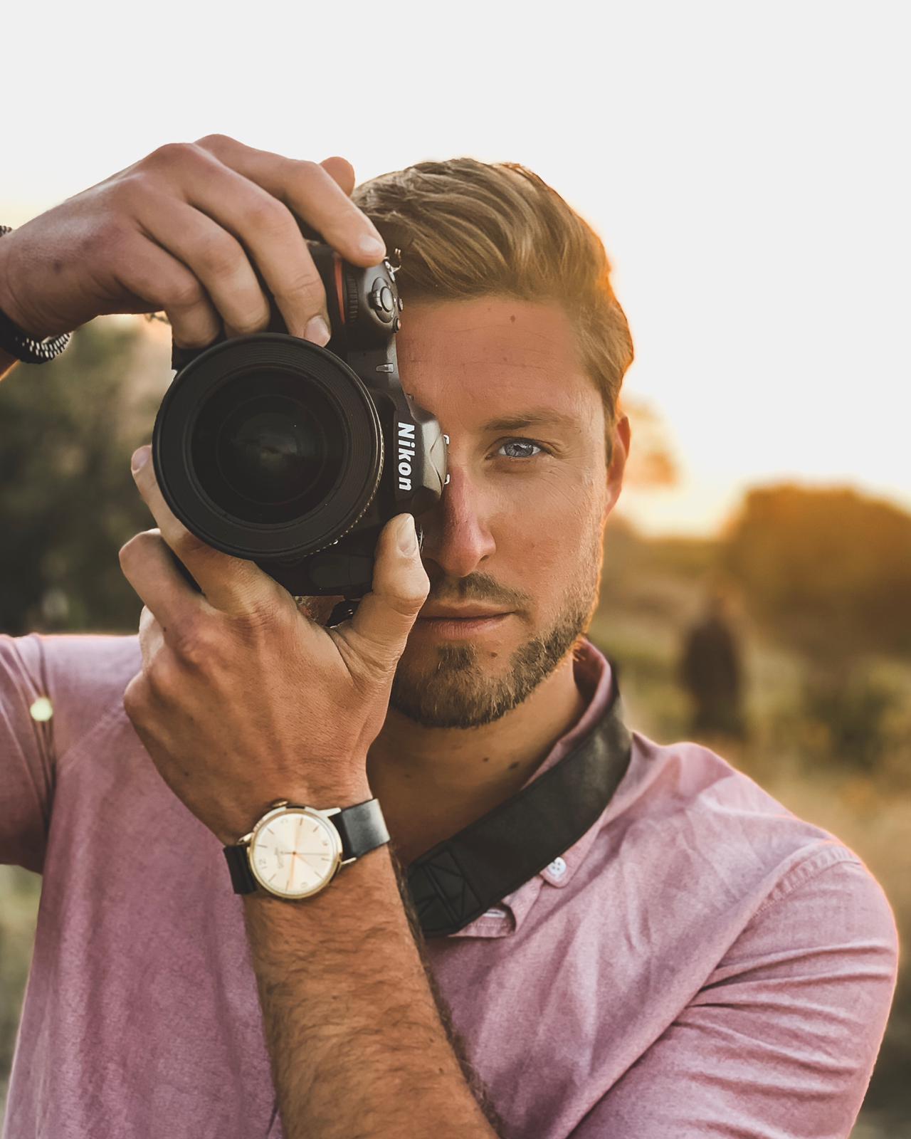 Dudefromthedam; Julian shooting with Nikon