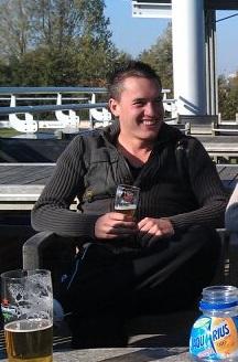 2011 - 83kg - Veel bier drinken en heel slecht eten…
