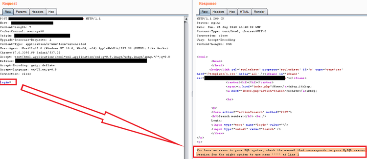 Routed SQL Injection — Improsec   improving security