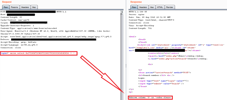Routed SQL Injection — Improsec | improving security