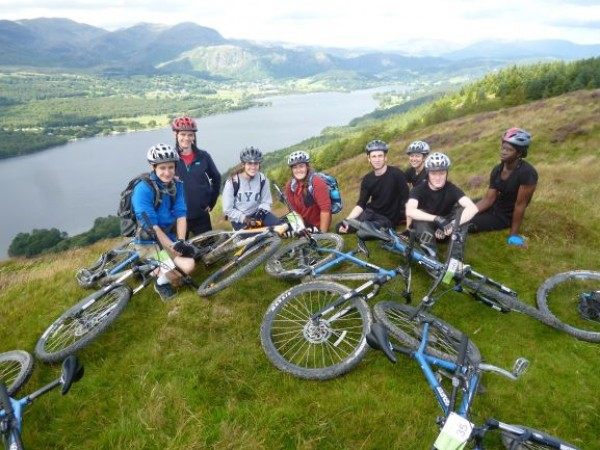 mountain biking in lake district