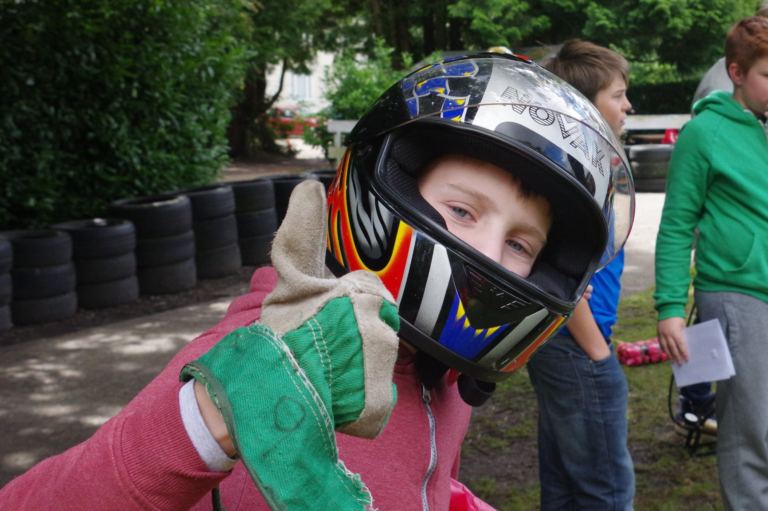 karting activity on adventure holiday