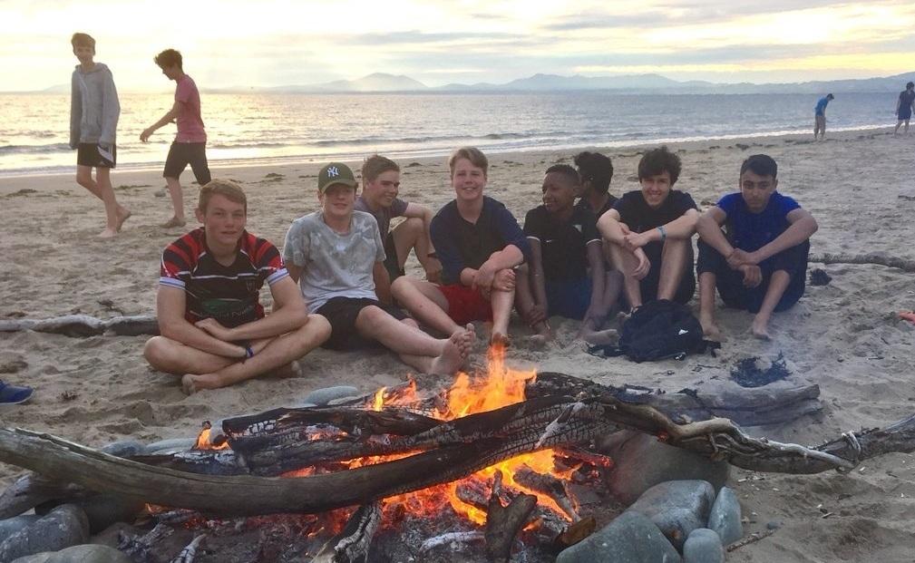 sailing windsurfing beach for CHRISTIAN activity adventurers