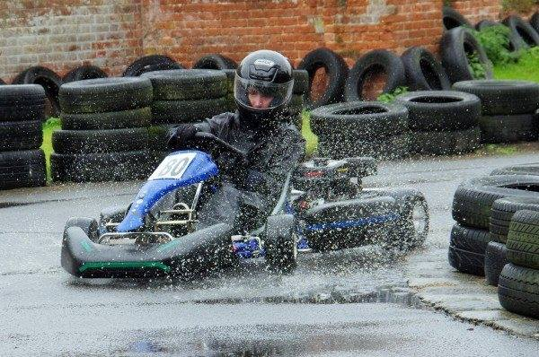 Kart driving on our activity holiday