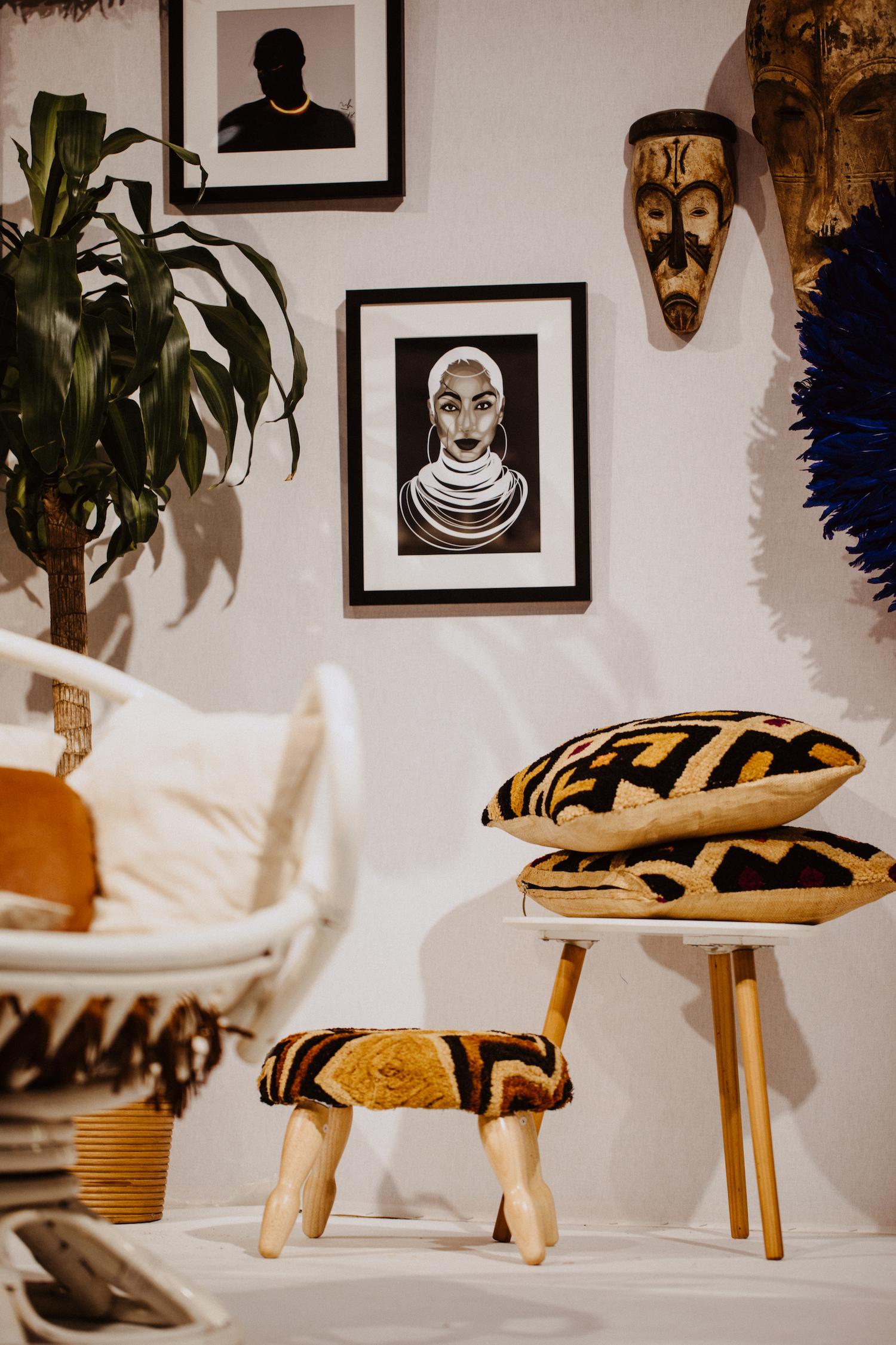 katia bertrand Ma couleur a ses merveilles décoration africaine