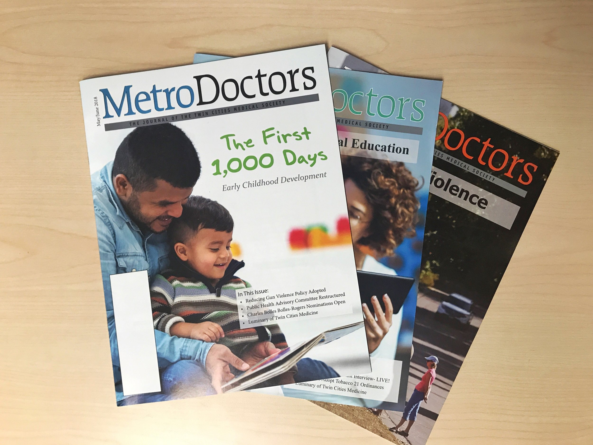 Advertising - Reach up to 5,700 physicians, clinic managers and health care professionals in the seven county metro area via MetroDoctors, a publication of the Twin Cities Medical Society. MetroDoctors is a key resource on issues affecting the practice of medicine, the delivery of health care and other subjects of interest to the medical community.