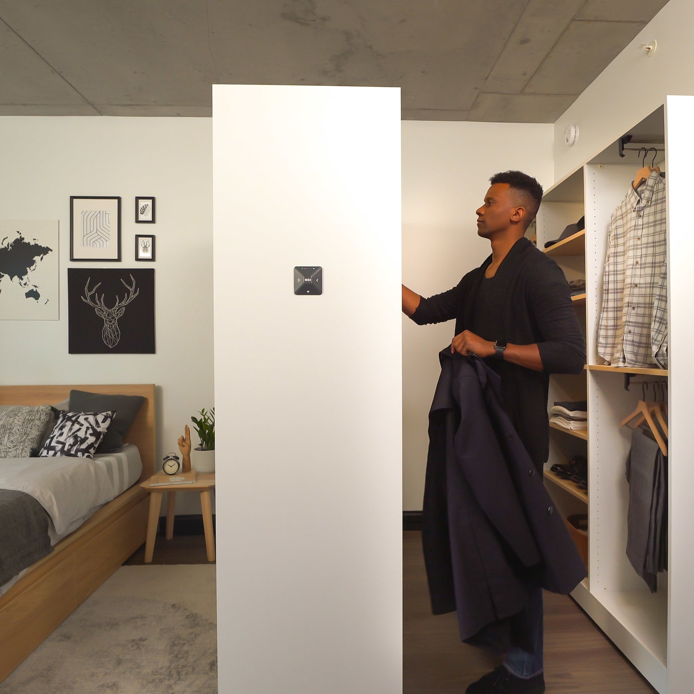 Ori Pocket Closet - The Ori Pocket Closet is the walk-in closet you've always wanted, but never had the room for.