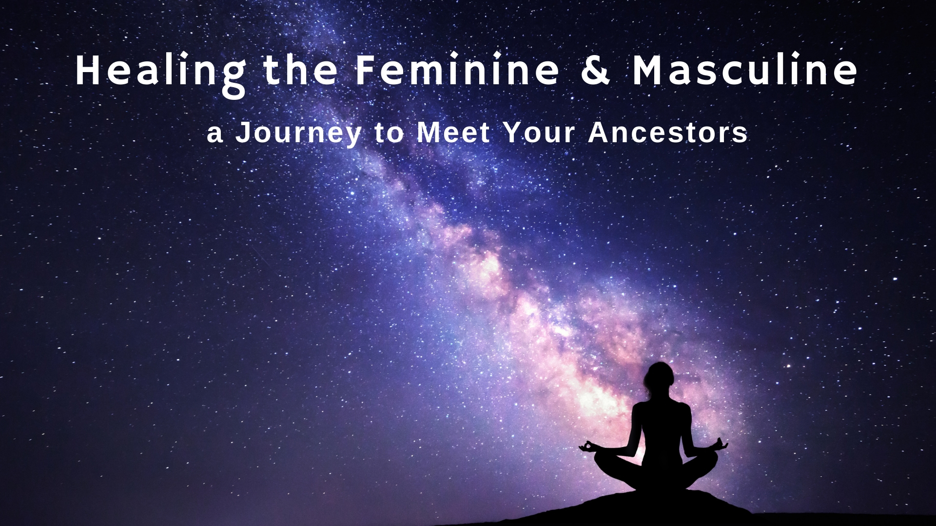 Healing the feminine & Masculine meditation journey - A guided journey with Cissi Williams where you journey into the womb of Mother Earth to heal the Feminine, and then up into the light of the Sun to heal the Masculine.