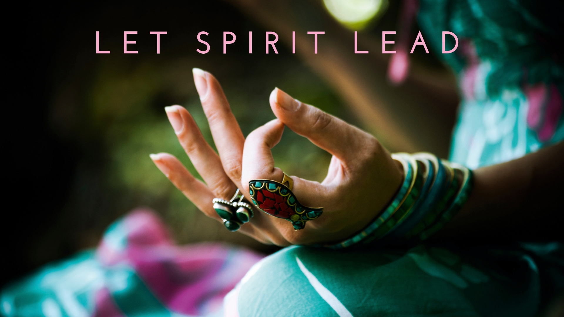 Let spirit lead - A guided morning meditation with Cissi Williams to help you connect with Spirit, so you can let Spirit lead.
