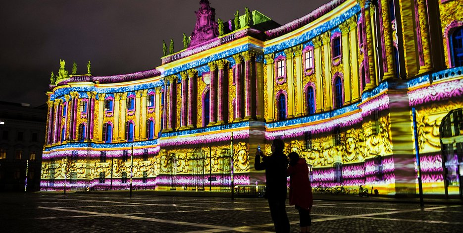 An inside look at one of the most popular 3D projection mapping light festivals in the world