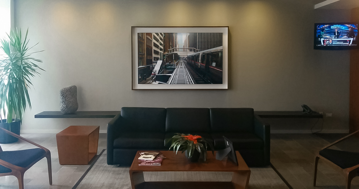 Lobby of Thompson Coburn LLC
