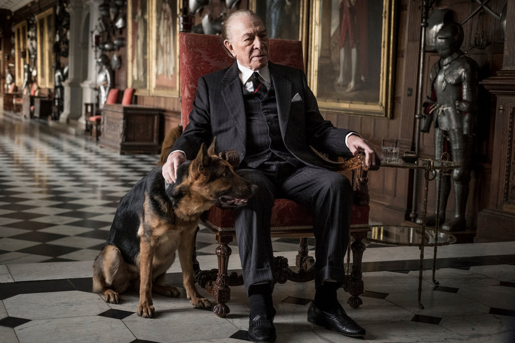 """All the Money in the World,"" featuring Christopher Plummer as J. Paul Getty, is one of several recent entertainment projects distressing the family.    Keyte/Sony Pictures, via Associated Press"