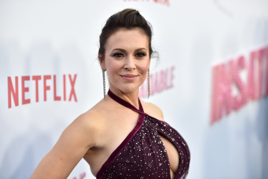 Alyssa Milano    Getty Images