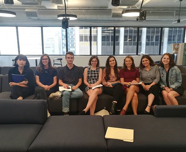 On Monday we welcomed our first group of September fellows!! 🙌