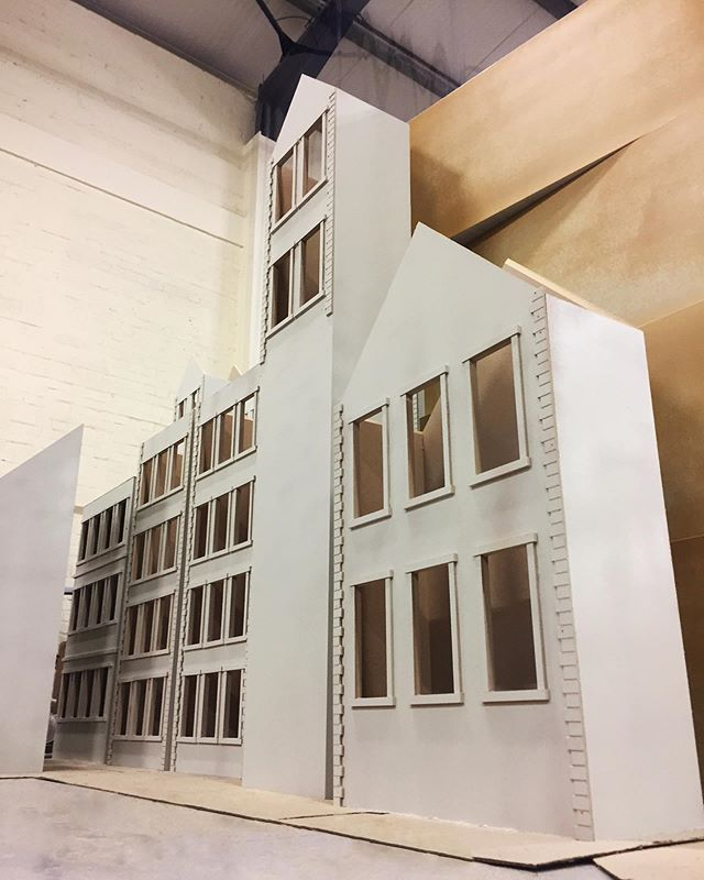 For this weeks#workshopwednesdaya bit of a #tbt while we finish up a huge job we will be sharing soon!  Here is part of our work for a Hobbs display we made a few months ago, which saw us making custom model townhouses.  With 10,000 square feet of production space we can build you anything from 1 to 1000, in any shape, any size and in any colour. Contact us using the link in bio and let us build your next vision.  #whitewaterprops#print#cnc #display#displayprops #printer #design#creative#creating#create #style #install #workspace #workshop #paint #bespoke #vm