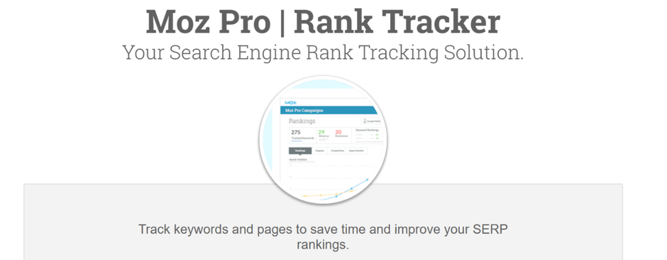 #3 Best SEO Tool for SEO Keyword Ranking Tracker.