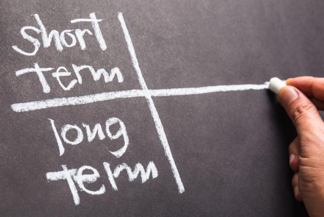 Short-term vs. long-term seo strategies.