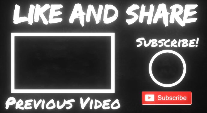 Best Youtube end screens and cards to put on videos.