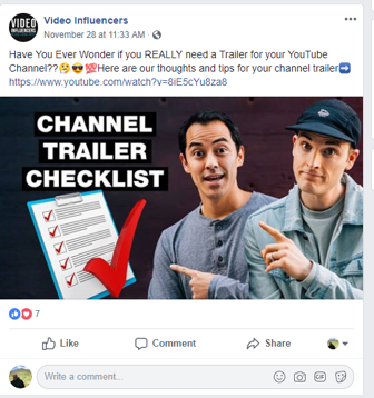 how to promote youtube videos on facebook.