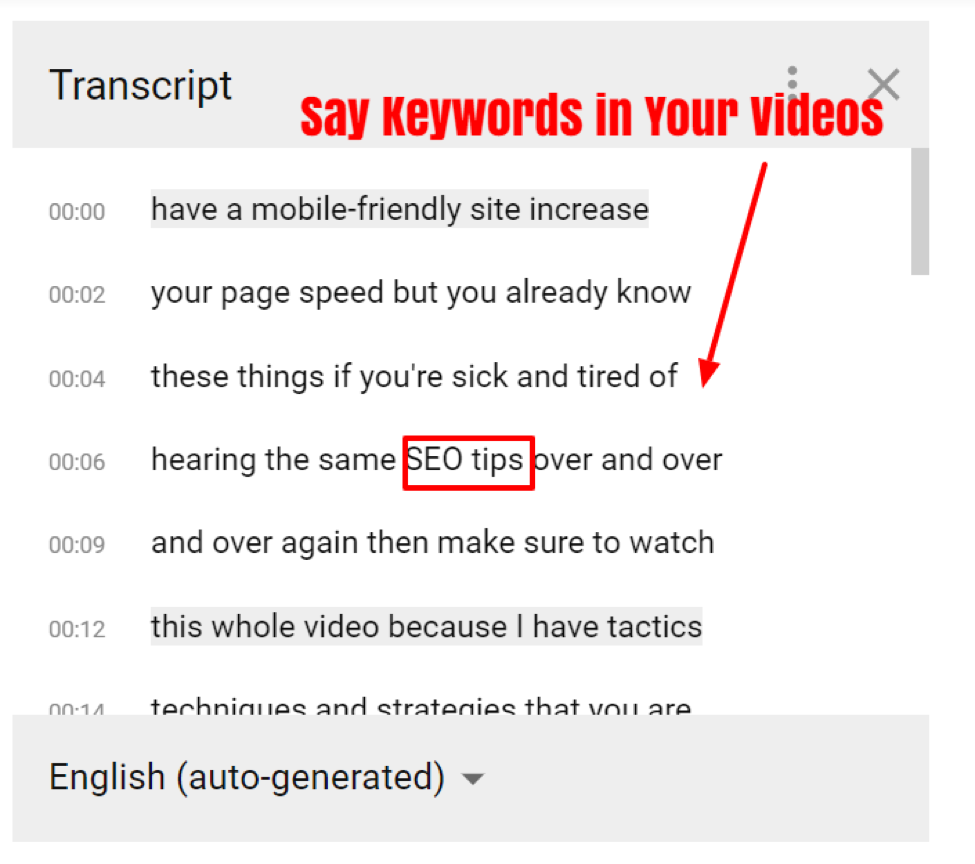 how to use youtube video transcripts and closed captions.
